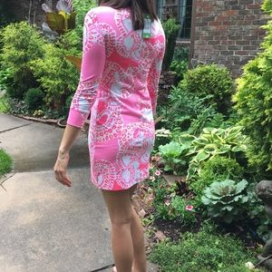 Lilly Pulitzer Dresses - Lilly Pulitzer hot coral Dress new with tags